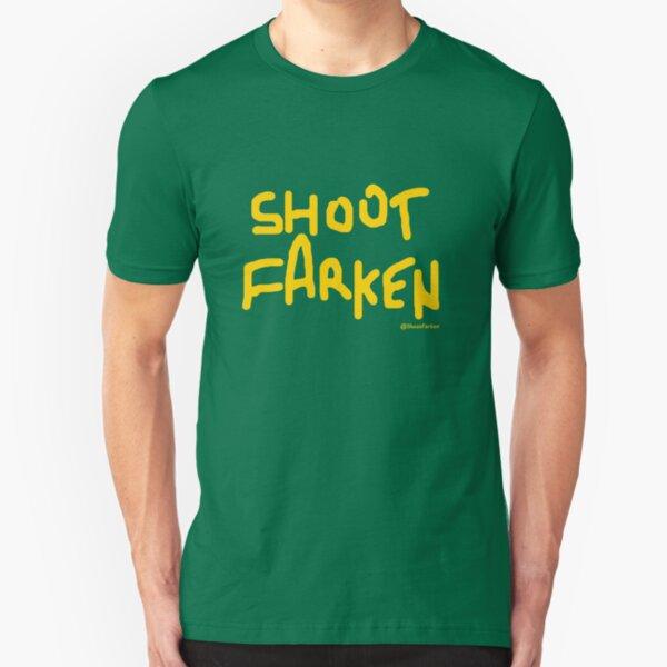 Shoot Farken Gold Slim Fit T-Shirt