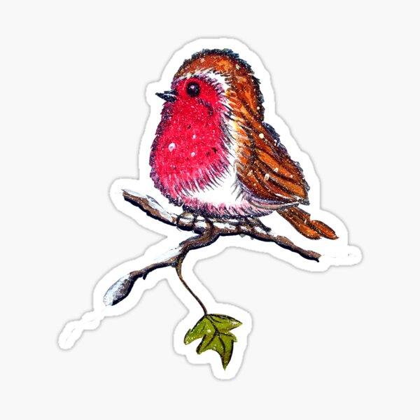 Christmas Robin  Sticker