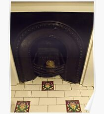 Fireplaces of the past Poster