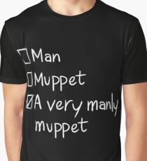 Man or Muppet Graphic T-Shirt