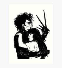 kim edward scissorhands white dress
