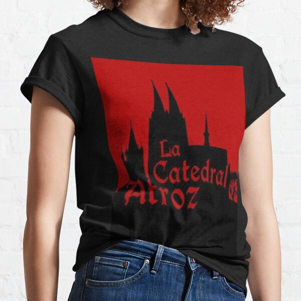 Official logo of La Catedral Atroz. Design by Asier Tro Carballo. Classic T-Shirt