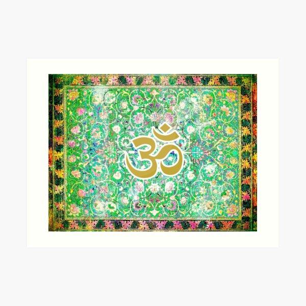 Magic Carpet Ohm Art Print
