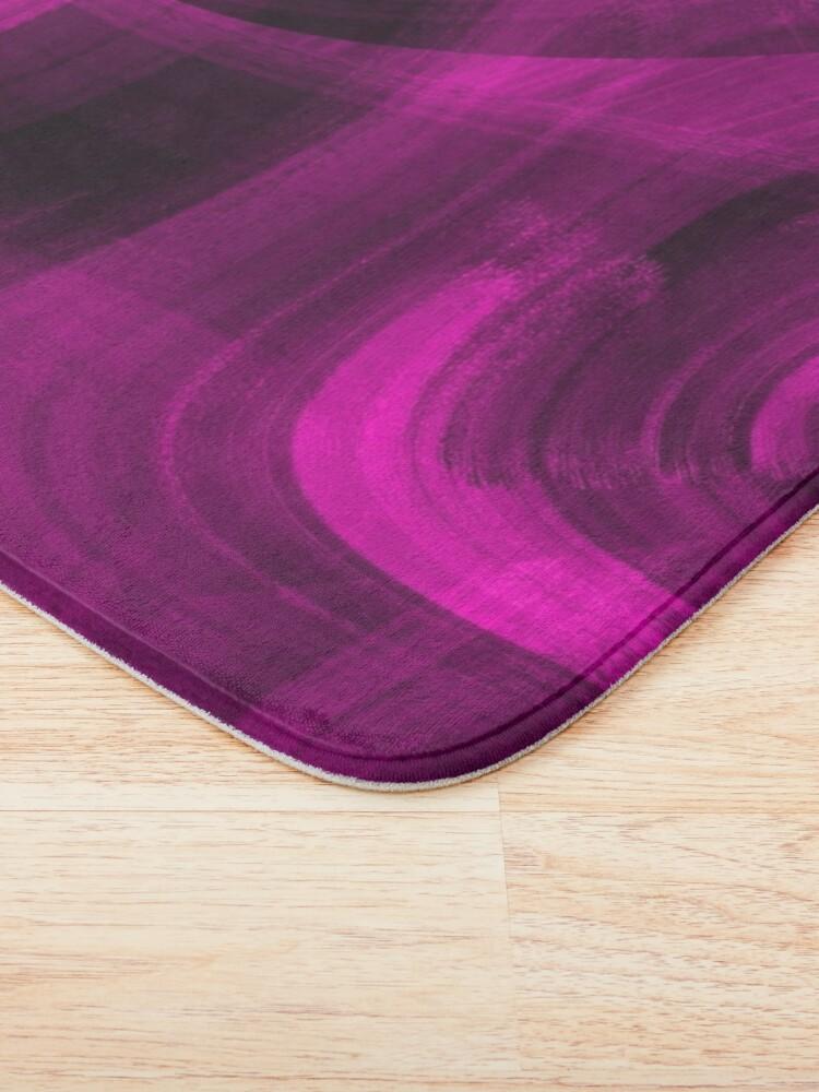 Alternate view of Pinkish Black Hole Bath Mat