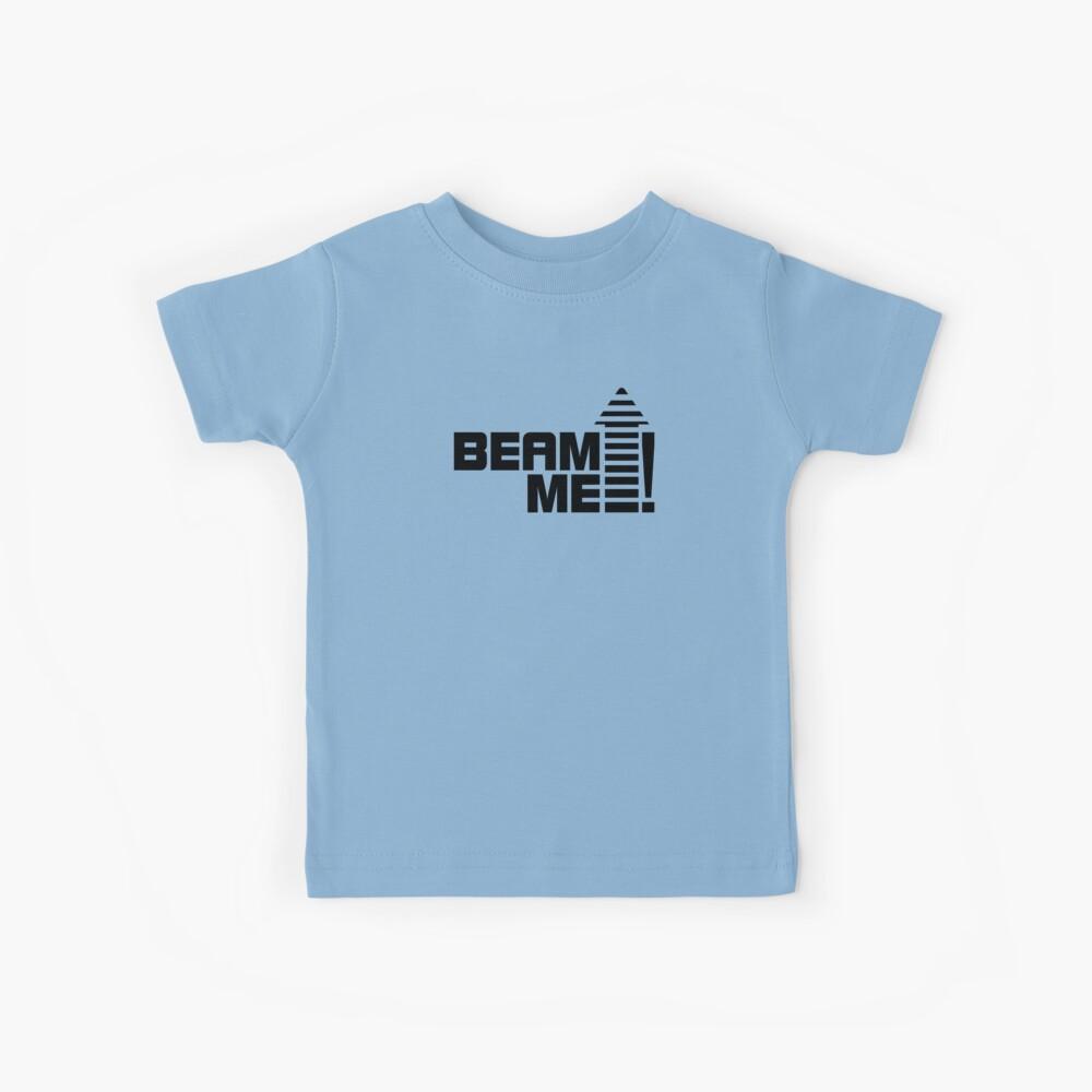 Envíame V.1 (negro) Camiseta para niños