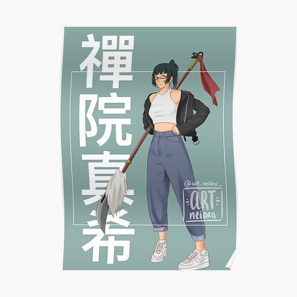Maki Zenin Poster