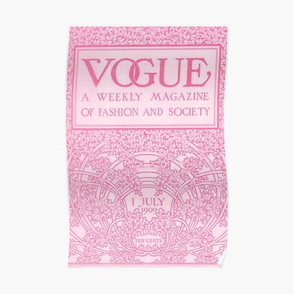 vogue magazine poster Poster
