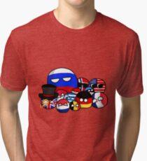 Countryballs Tri-blend T-Shirt