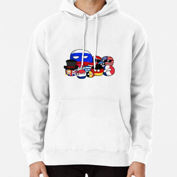 Countryballs Pullover Hoodie