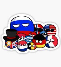 Countryballs Sticker