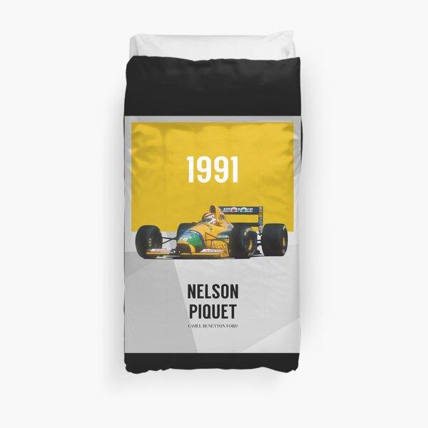 Nelson Piquet - F1 1991 Funda nórdica