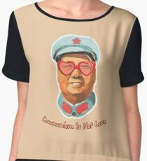 Mao Zedong Women's Chiffon Top