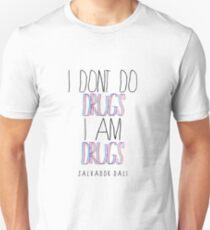 Type Quote #2 - I dont do drugs i am drugs - Salvador Dali Unisex T-Shirt