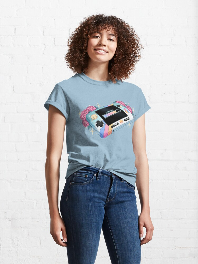Alternate view of Flowery Console (Pastel) Classic T-Shirt