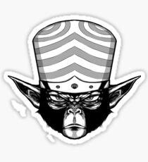 Mojo Jojo - Black&White Outline Sticker