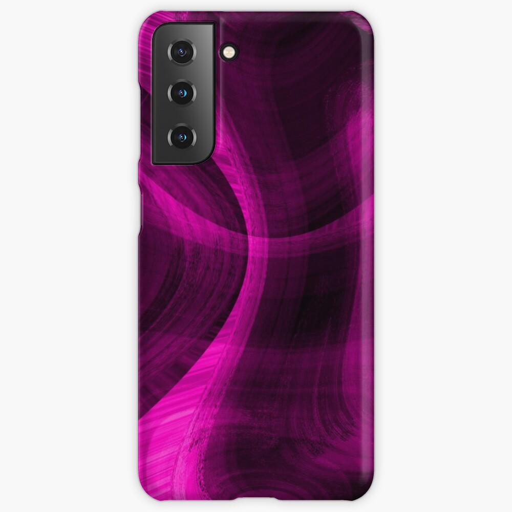 Pinkish Black Hole Case & Skin for Samsung Galaxy