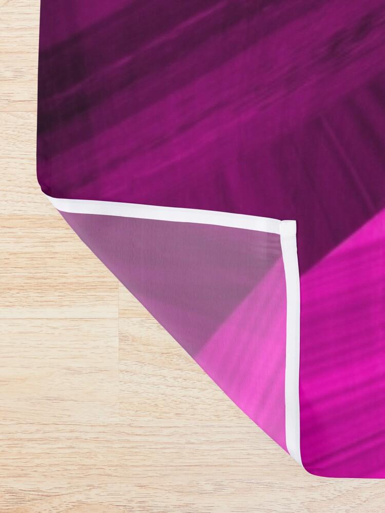 Alternate view of Pinkish Black Hole Shower Curtain