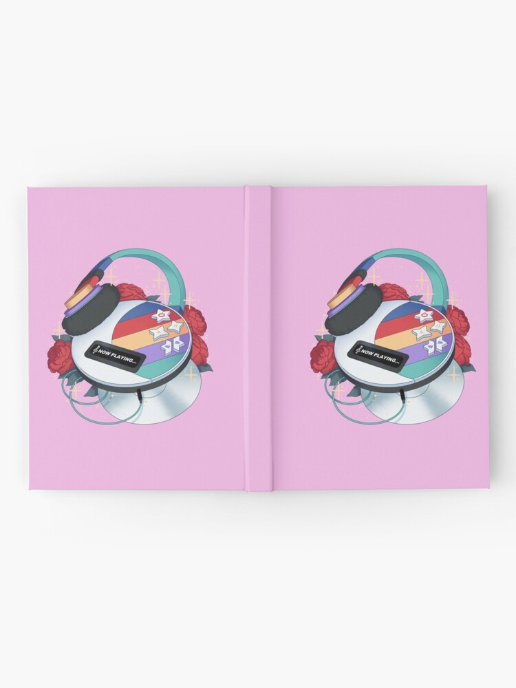 Alternate view of Flowery CD Player (Toy) Hardcover Journal