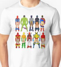 Superheld Butts Slim Fit T-Shirt