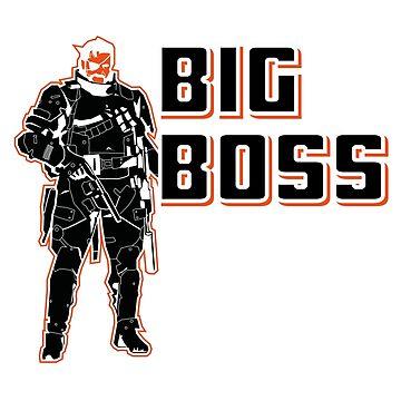 MGS Big Boss by digitalage