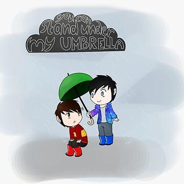 Paraguas de Fix-it-Fran