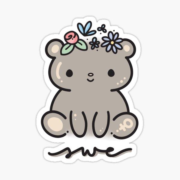SWE Bear Sticker Sticker