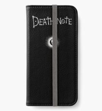 Death Note iPhone Wallet