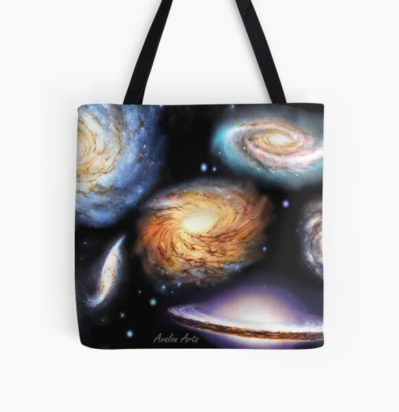 Name That Galaxy All Over Print Tote Bag