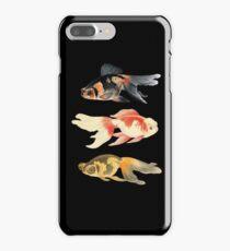 Botanical Fish Trio on Black iPhone 7 Plus Case