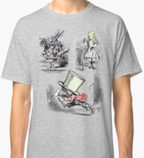 Alice in Wonderland Montage  Classic T-Shirt