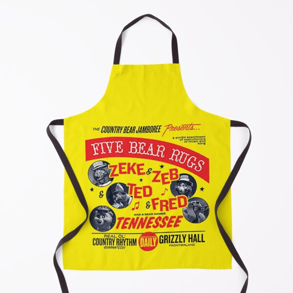 Five Bear Rugs T-Shirt Apron