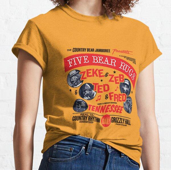Five Bear Rugs T-Shirt Classic T-Shirt