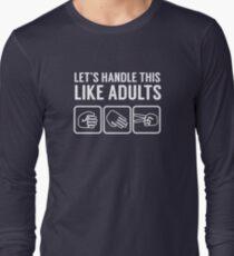 Like Adults Long Sleeve T-Shirt