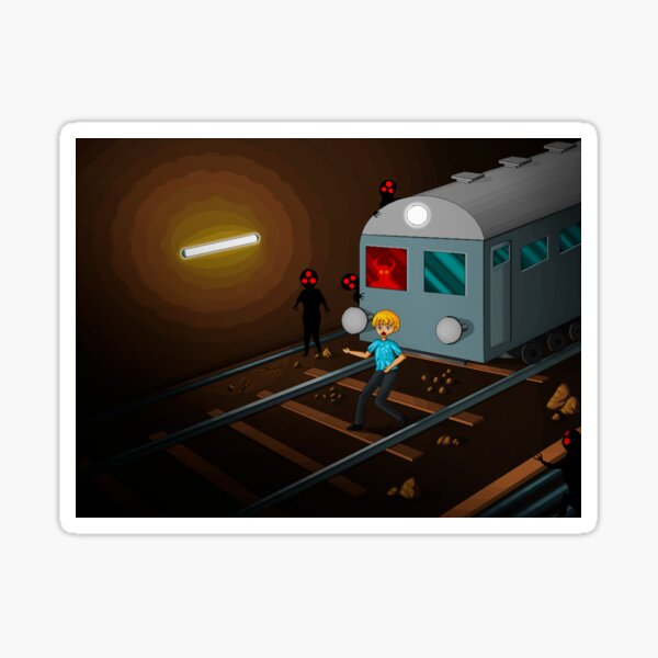 The Haunted Tunnel Sticker