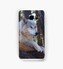 Timber Wolf Sentinel Samsung Galaxy Case/Skin