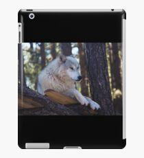 Timber Wolf Sentinel iPad Case/Skin