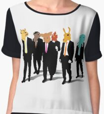 Hotline Miami (Reservoir Dogs) Chiffon Top
