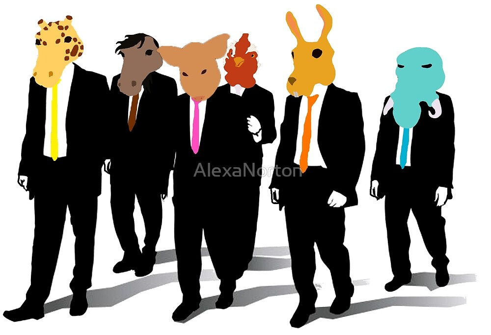 Hotline Miami (Reservoir Dogs) by AlexaNorton