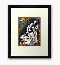 Le pinceau, featured in Vavoom  Framed Print