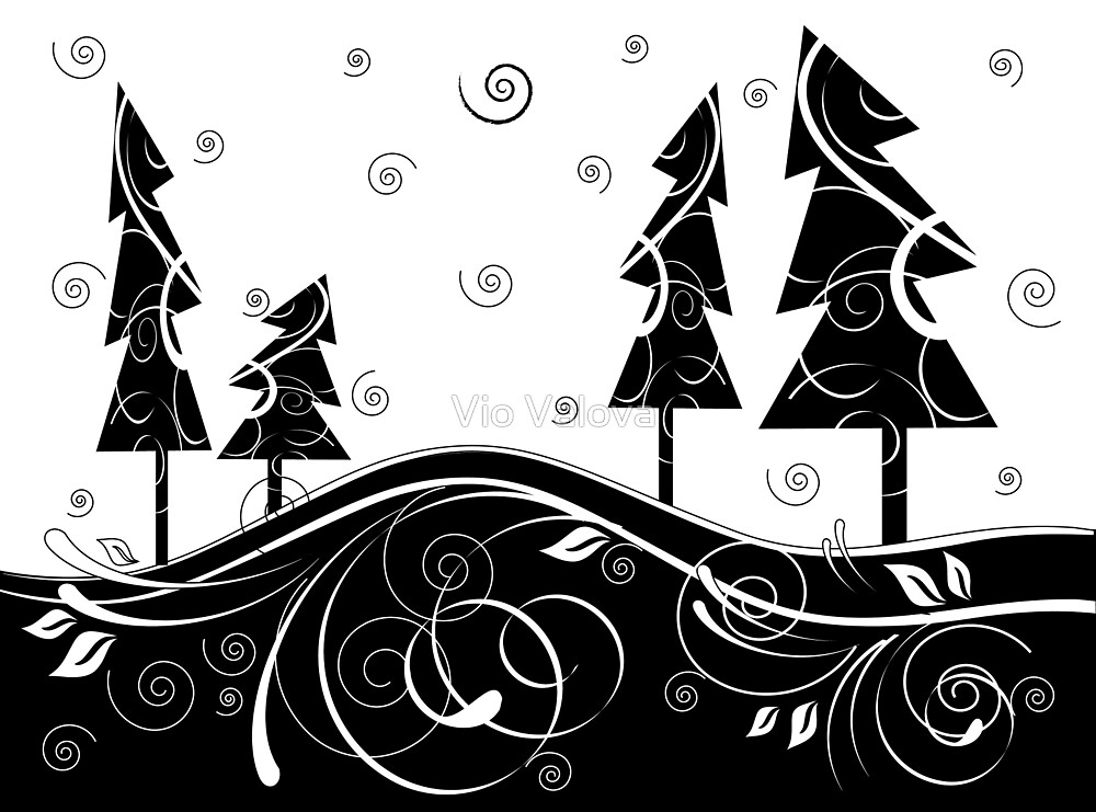Christmas Forest by VioDeSign
