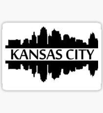 Kansas City Skyline KCMO KCKS Missouri Kansas Sticker