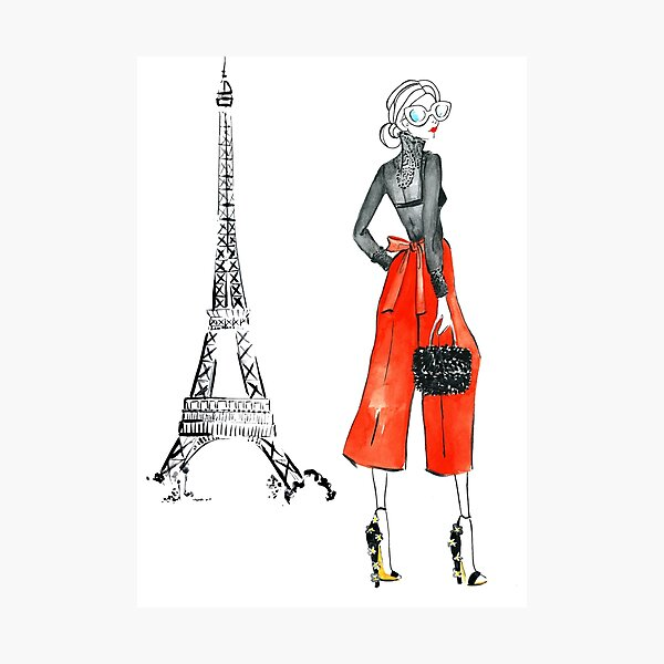 A day in Paris Photographic Print