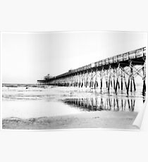 The Pier at Folly Beach Poster