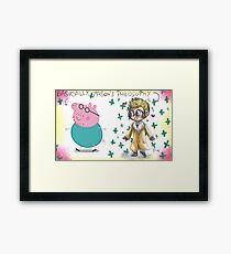 Hannibal - Mason Verger philosophy : Papa Pig Framed Print
