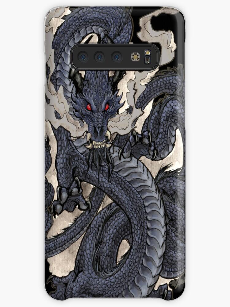 'Eastern Dragon' Case/Skin for Samsung Galaxy by drakhenliche