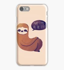 Nap Time, All The Time iPhone Case/Skin
