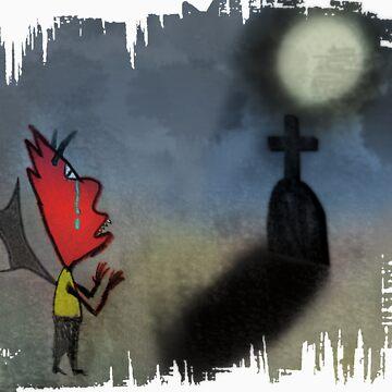 The saddest little demon by trum