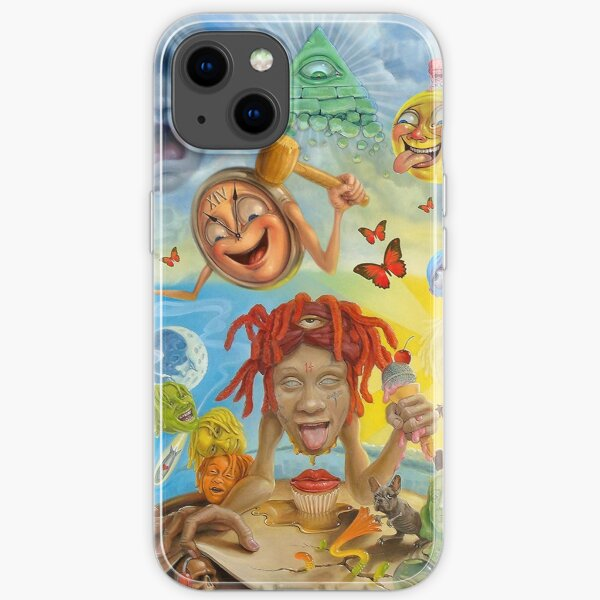 new abstrac eat iPhone Soft Case
