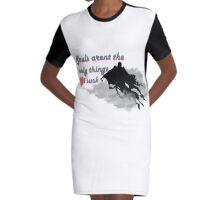 Dementor Love Graphic T-Shirt Dress