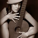 Girl & Guitar 3 by VioDeSign